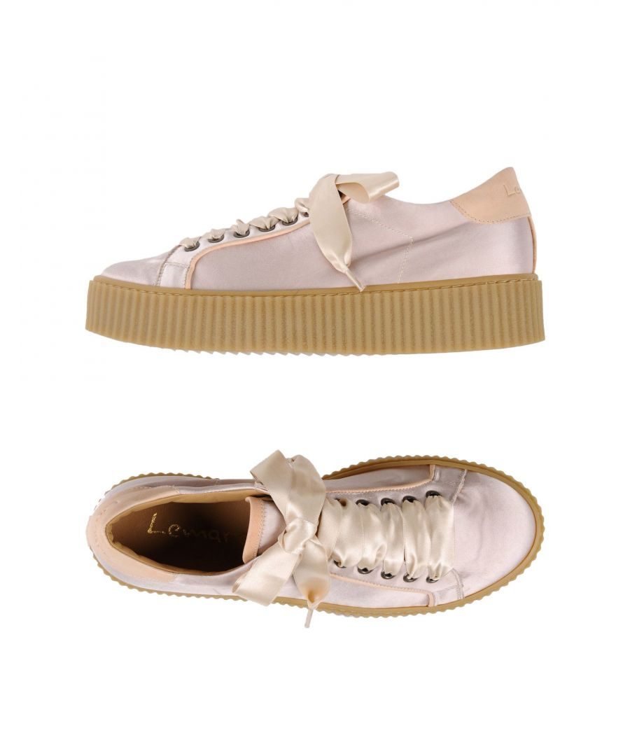 Image for Lemaré Pale Pink Leather Sneakers
