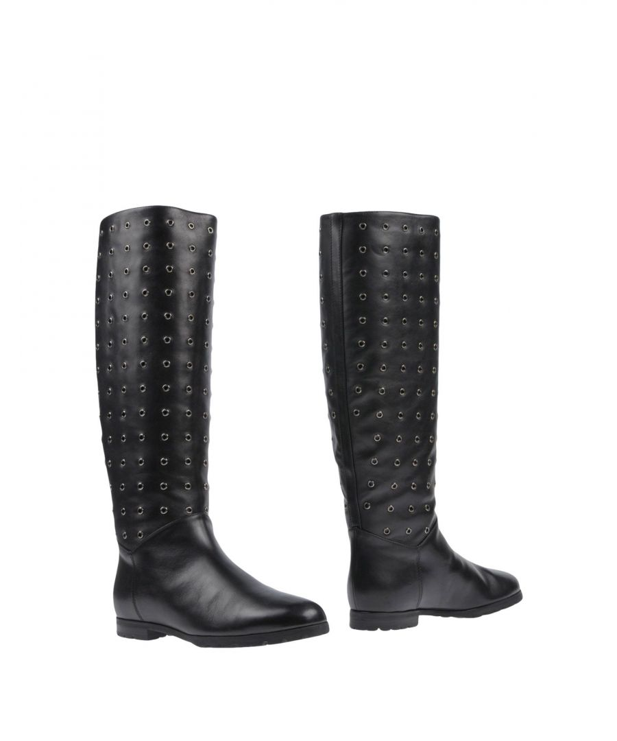 Image for A.Testoni Black Calf Leather Boots