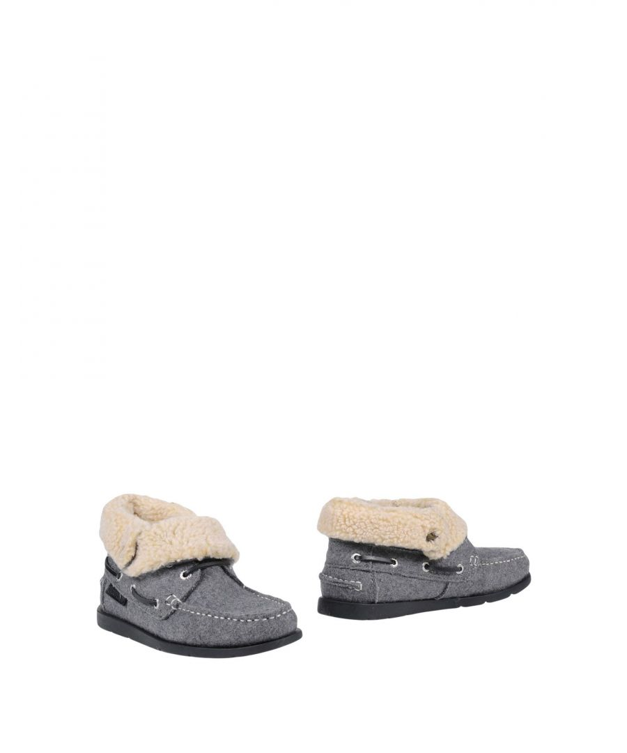 Image for Superga Grey Faux Fur Ankle Boots