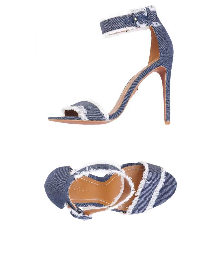 Image for Carrano Blue Heeled Sandals