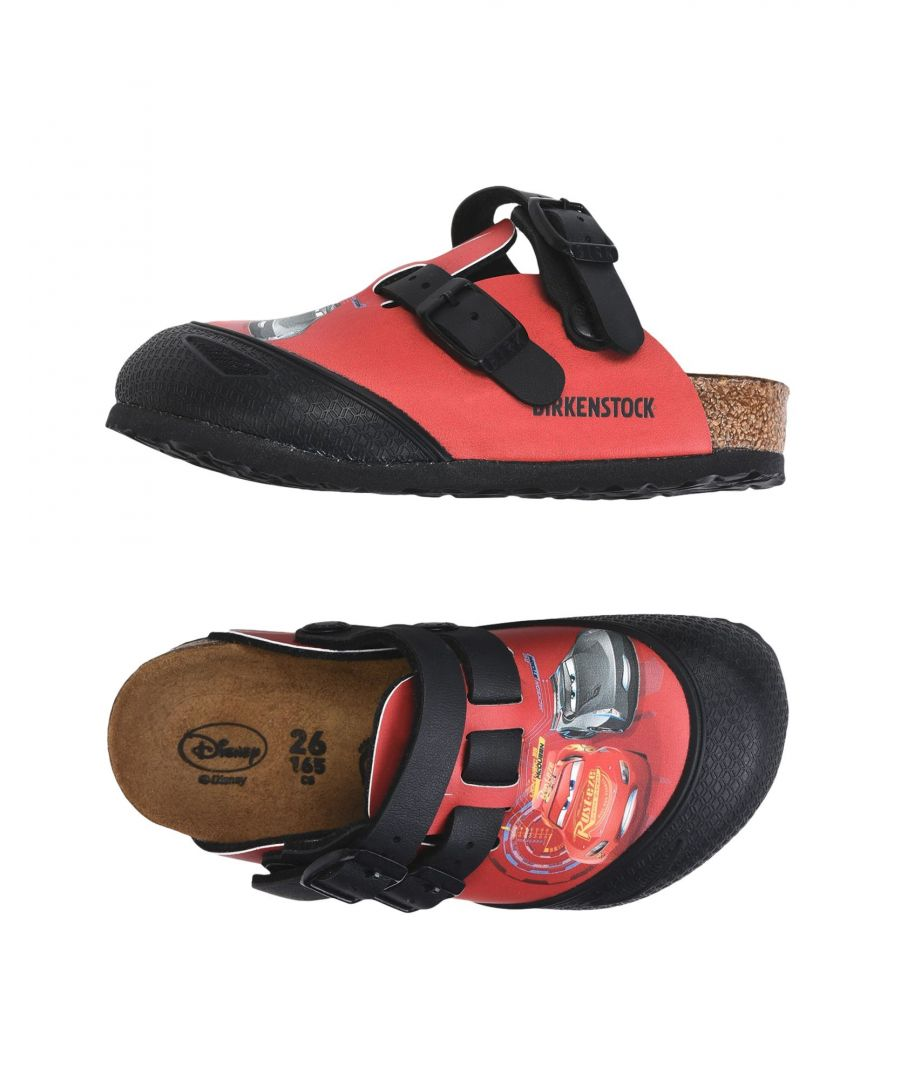 Image for Birkenstock Red Boy Shoes
