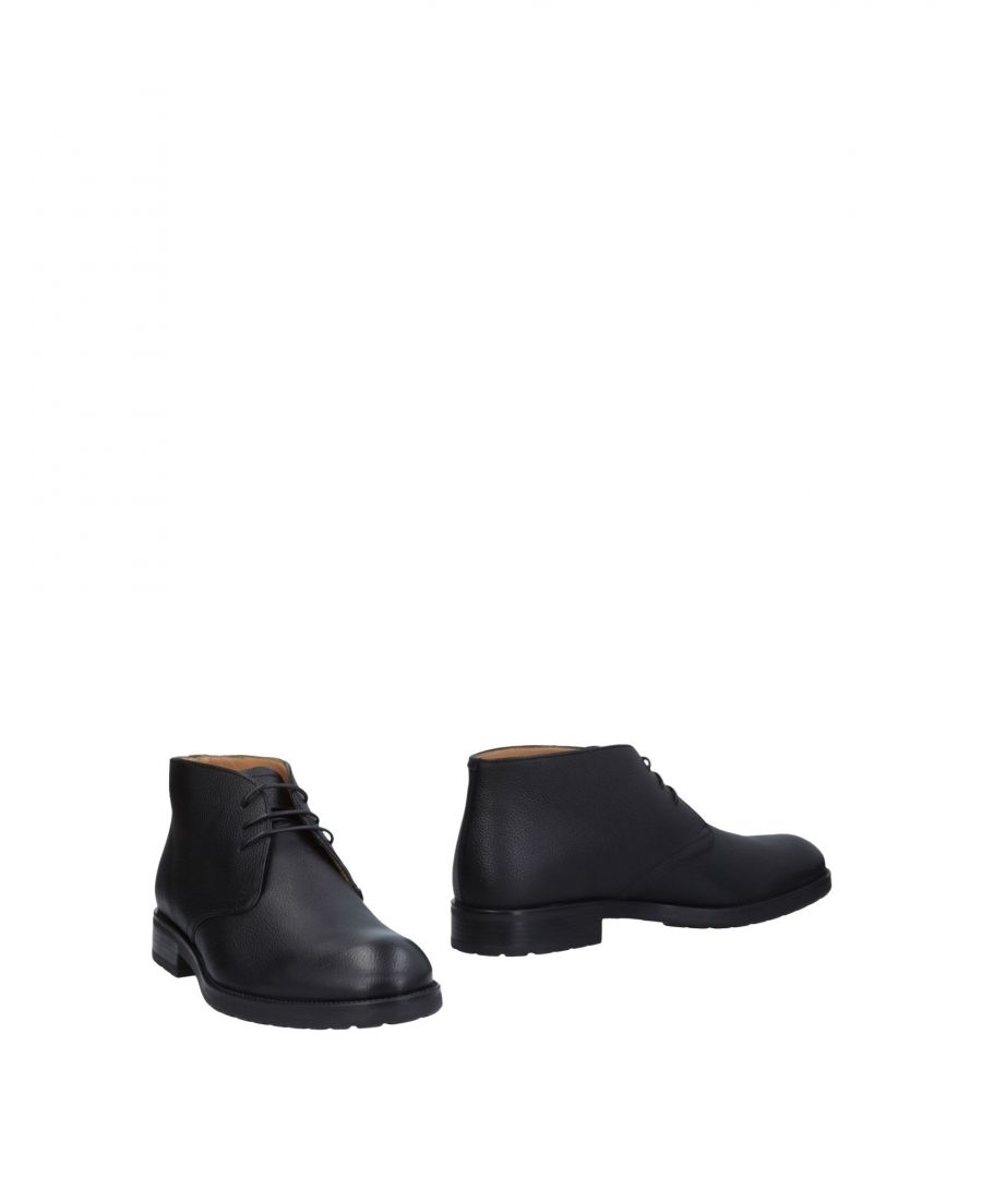 Image for Bally Black Textured Leather Boots