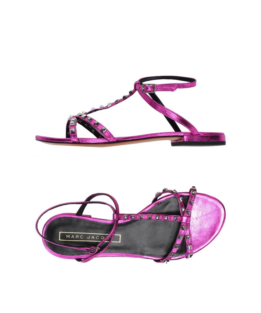 Image for Marc Jacobs Woman Sandals Fuchsia Leather