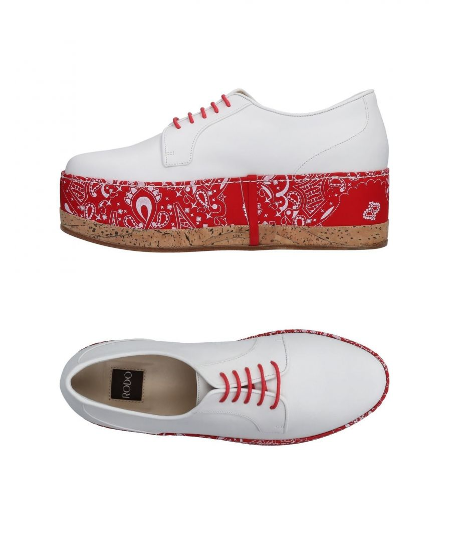 Image for Rodo White Calf Leather Shoes