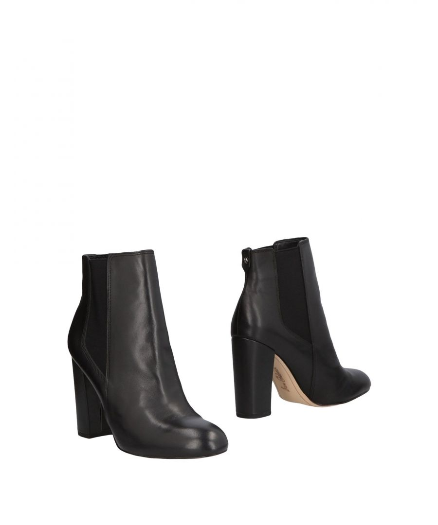 Image for Sam Edelman Black Leather Ankle Boots