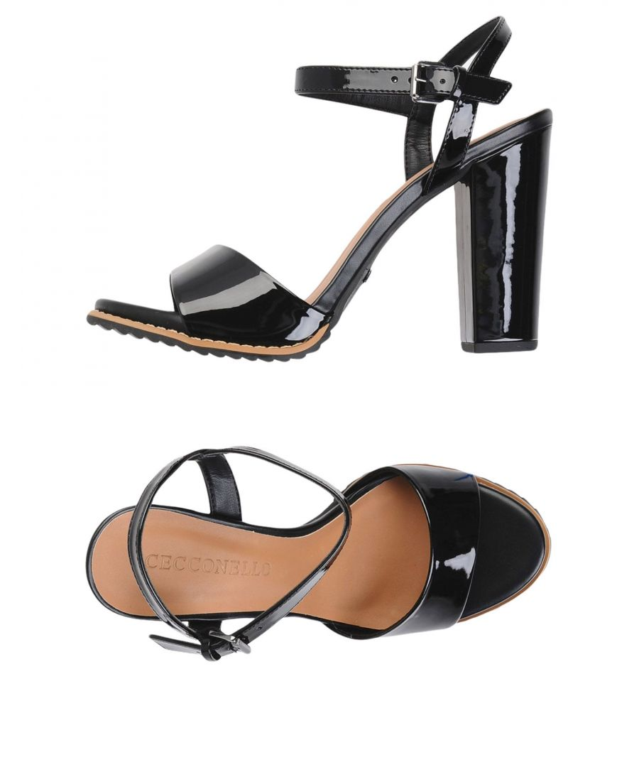 Image for Cecconello Black Textile fibres Sandal