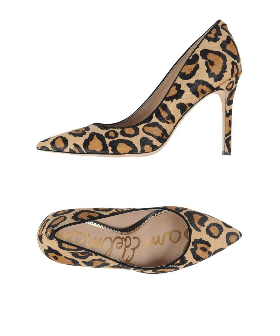 Image for Sam Edelman Leopard Print Leather Court Shoe Heels
