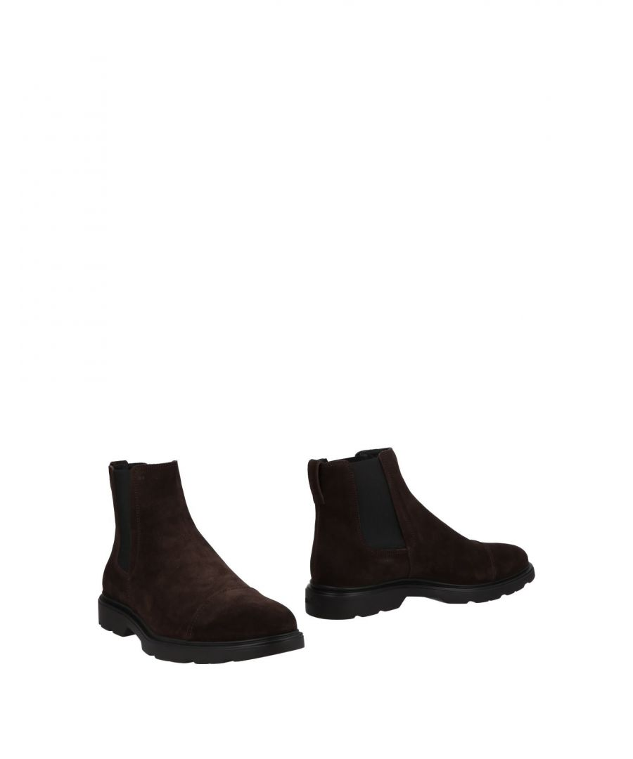 Image for Hogan Dark Brown Leather Boots