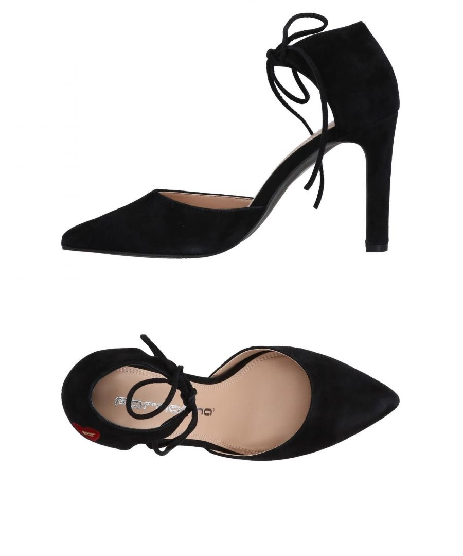 Image for Fornarina Black Leather Heels