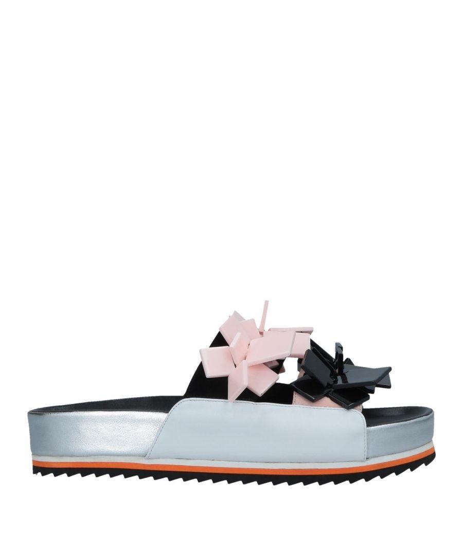 Image for Kat Maconie Black Leather Sliders
