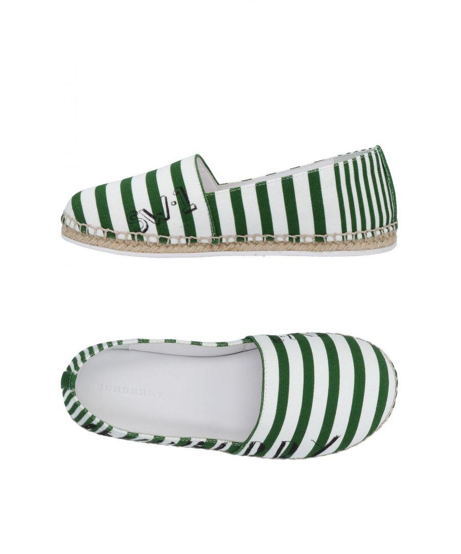 Image for FOOTWEAR Burberry Dark green Girl Textile fibres