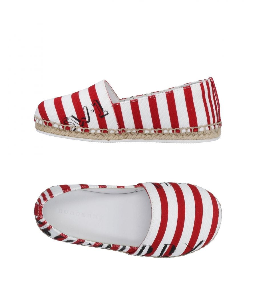 Image for FOOTWEAR Burberry Red Girl Textile fibres