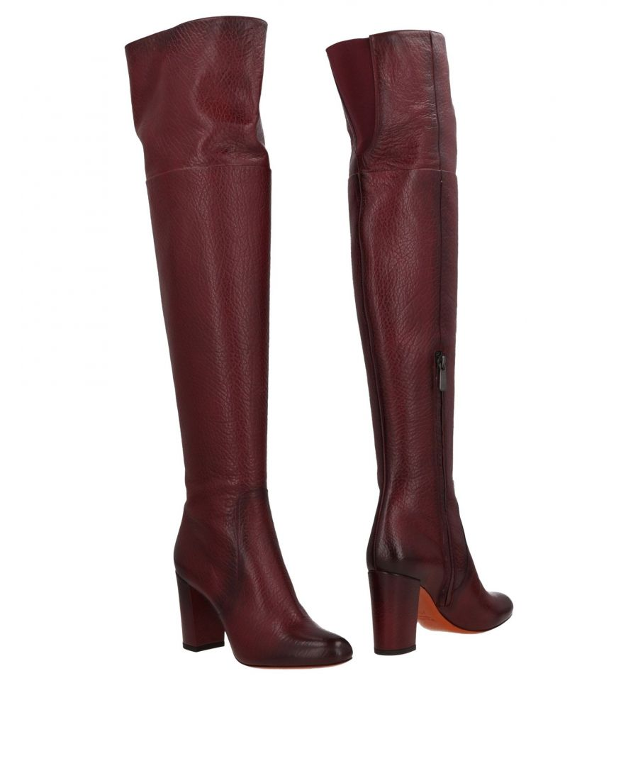 Image for FOOTWEAR Santoni Maroon Woman Leather