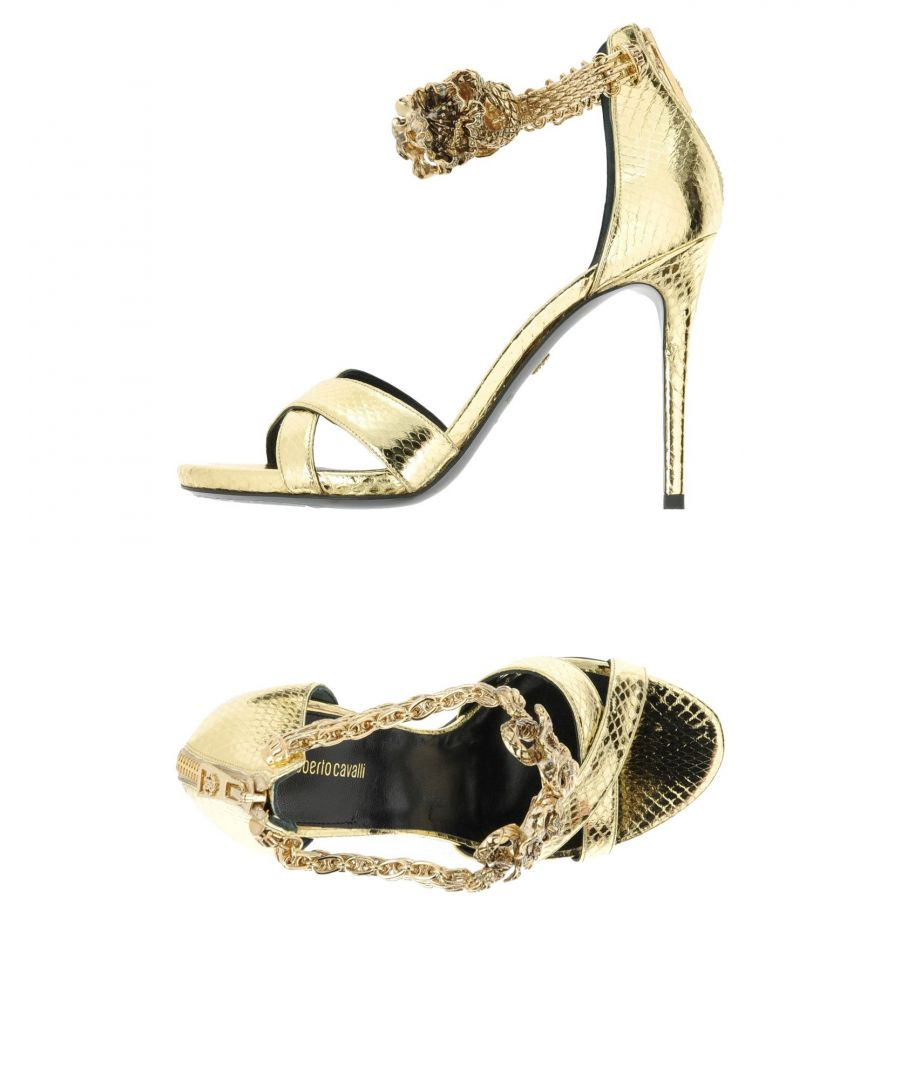 Image for Roberto Cavalli Platinum Ayers Heeled Sandals