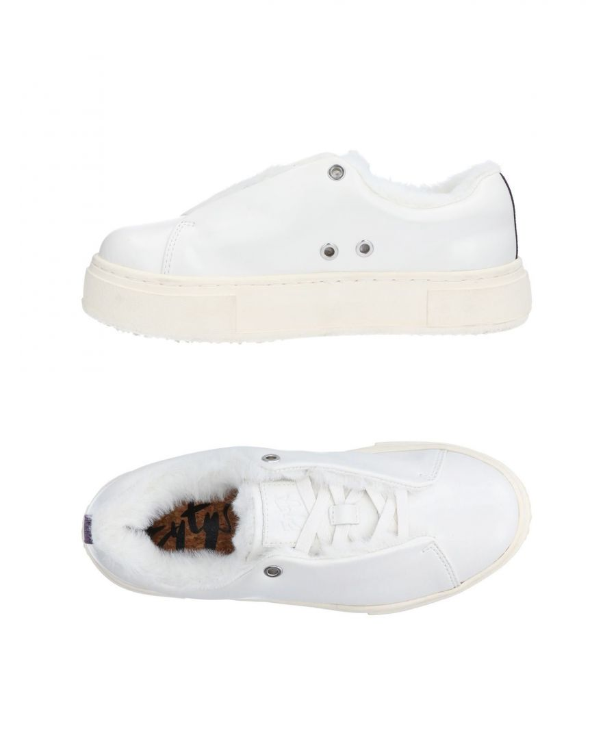 Image for Eytys White Leather Sneakers