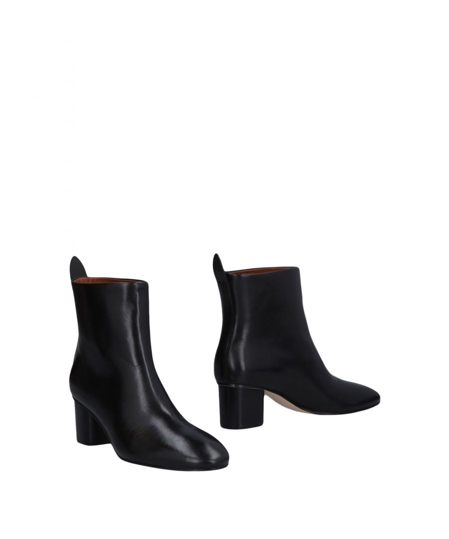 Image for Joseph Black Leather Ankle Boots
