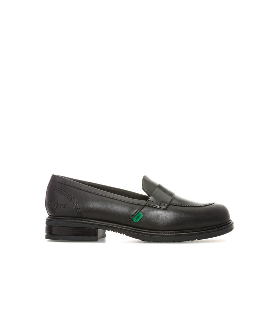 Image for Women's Kickers Lach Loafer Shoes in Black