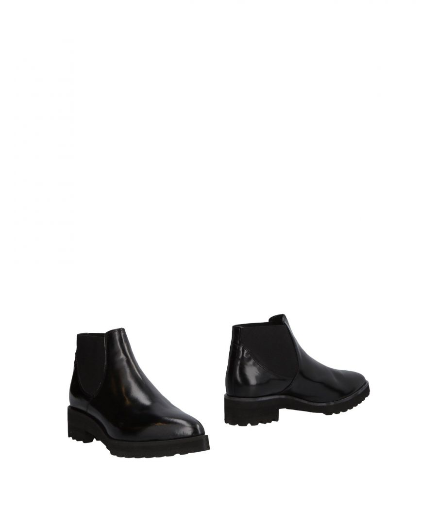 Image for Coach Black Leather Ankle Boots