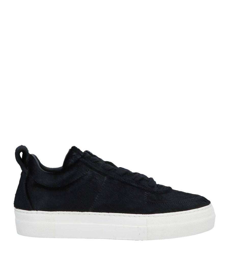 Image for Helmut Lang Black Calf Leather Sneakers