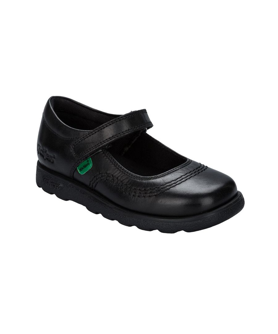 Image for Girl's Kickers Infants Fragma Pop Shoe in Black