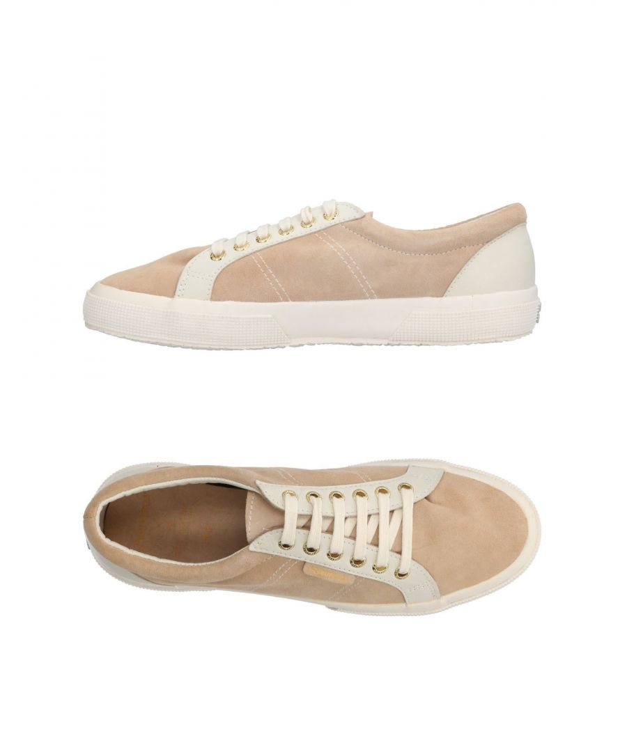 Image for Superga X Scotch & Soda Sand Leather Sneakers