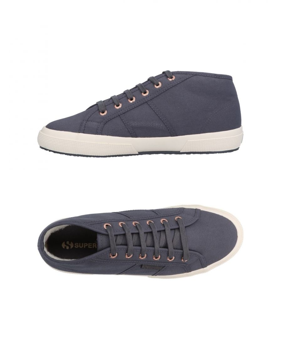 Image for Superga Grey Cotton Canvas Sneakers
