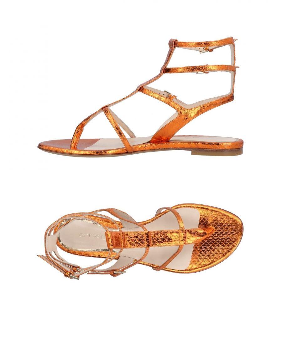 Image for Etro Orange Sandals