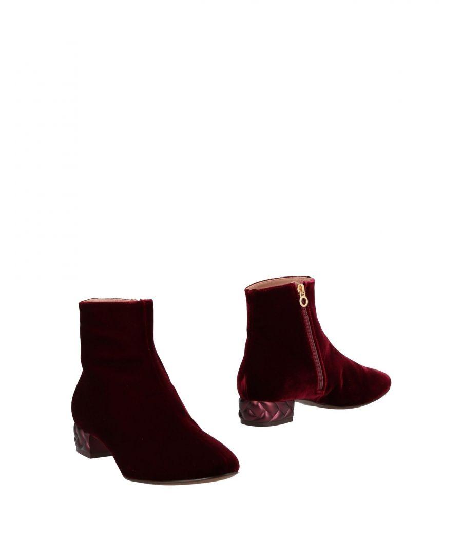 Image for L' Autre Chose Woman Ankle boots Maroon Textile fibres