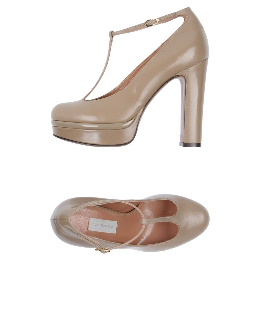 Image for FOOTWEAR L' Autre Chose Khaki Woman Leather