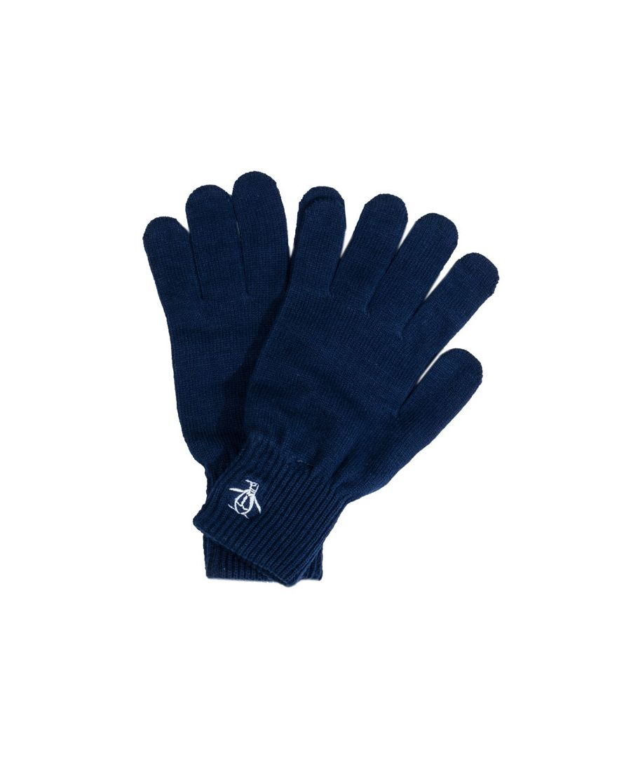 Image for Accessories Original Penguin Basic Logo Glove in Navy