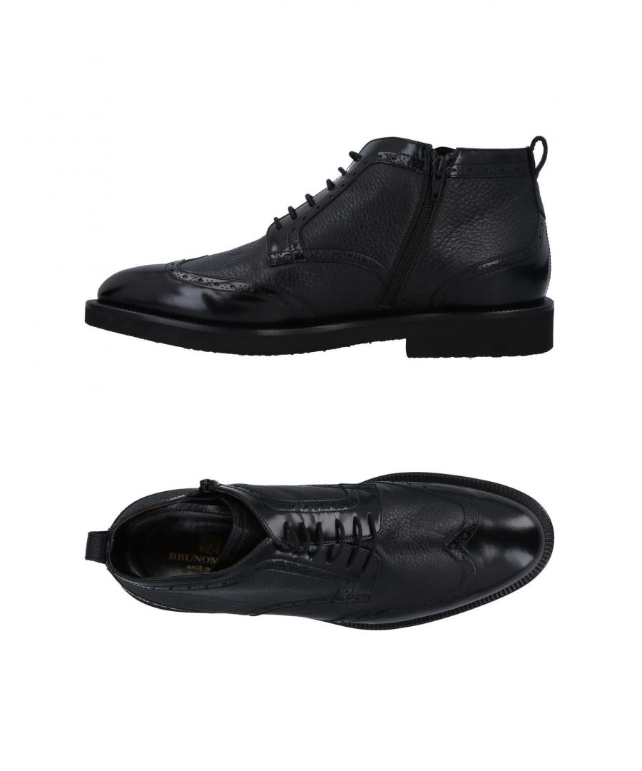 Image for Bruno Magli Black Buck Leather Boots