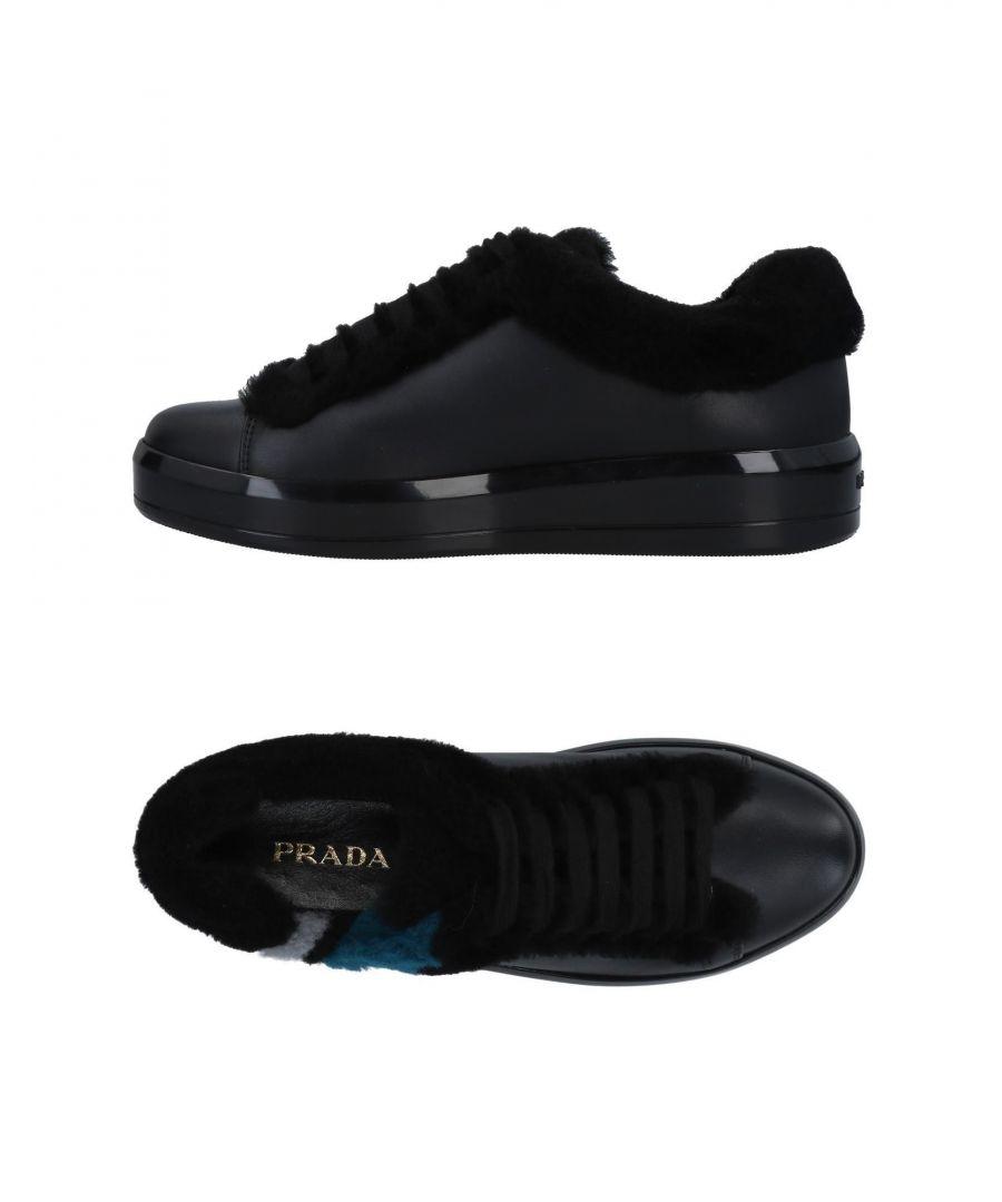 Image for Prada Woman Low-tops & sneakers Black Calf