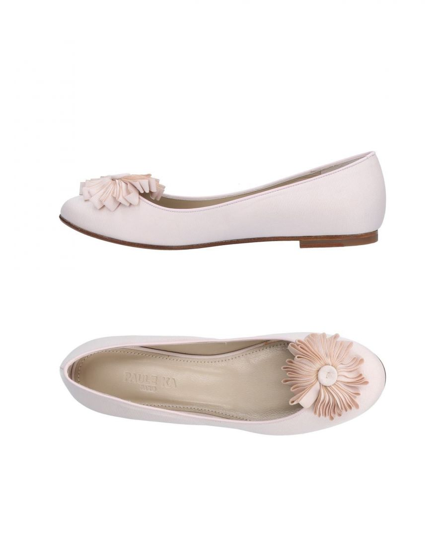 Image for Paule Ka Light Pink Ballet Flats