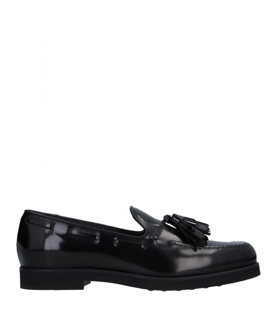 Image for Tod's Black Leather Loafers