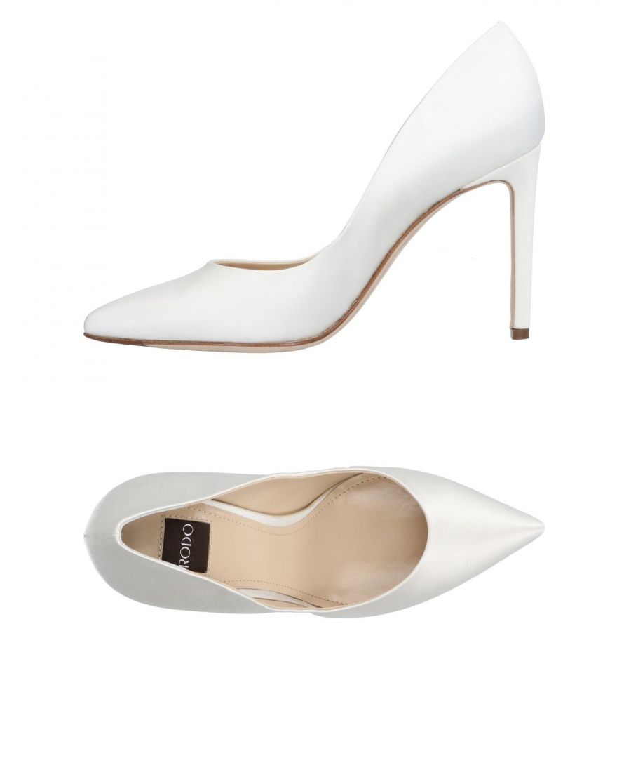 Image for Rodo Ivory Court Shoe Heels
