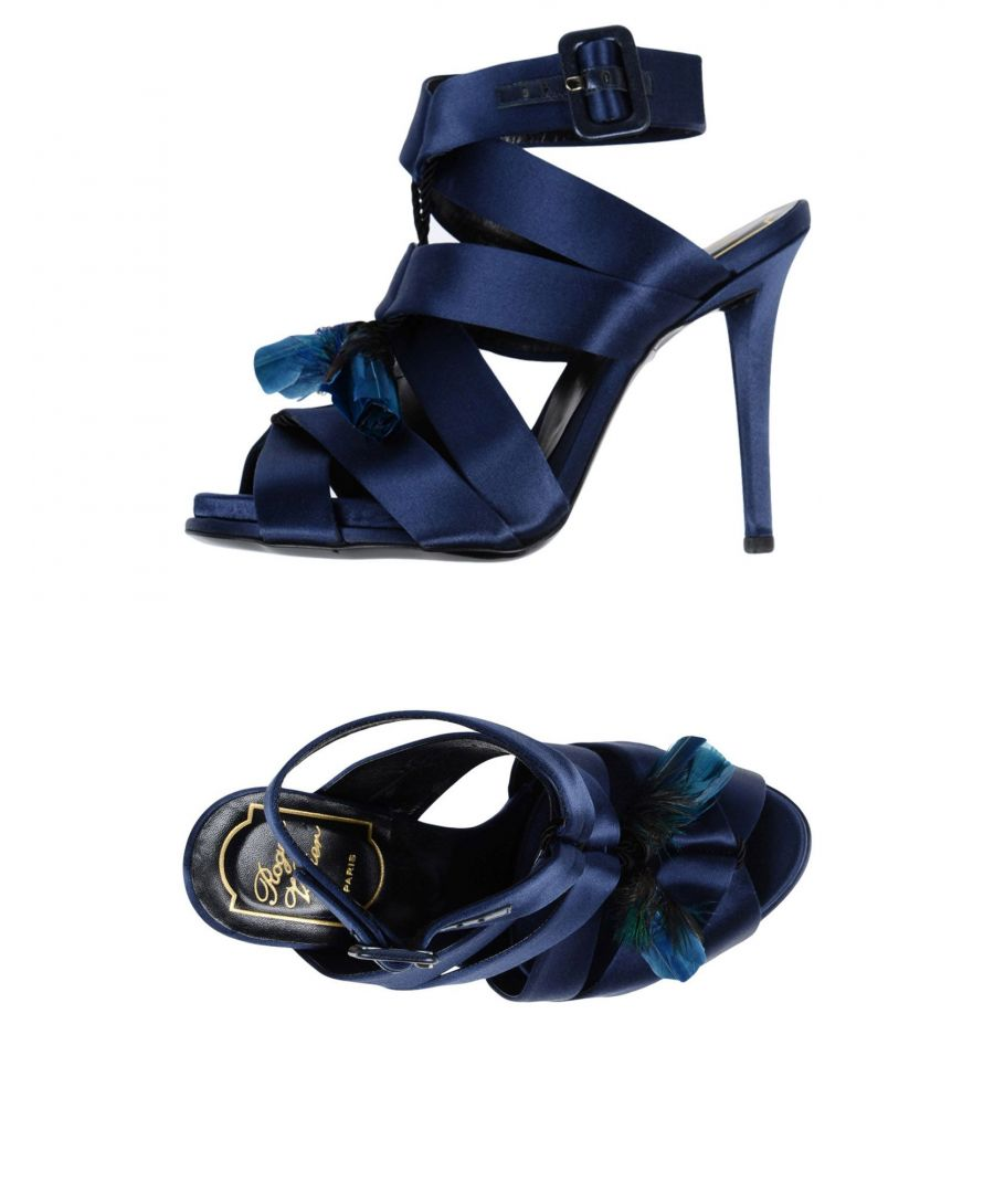 Image for FOOTWEAR Roger Vivier Blue Woman Textile fibres
