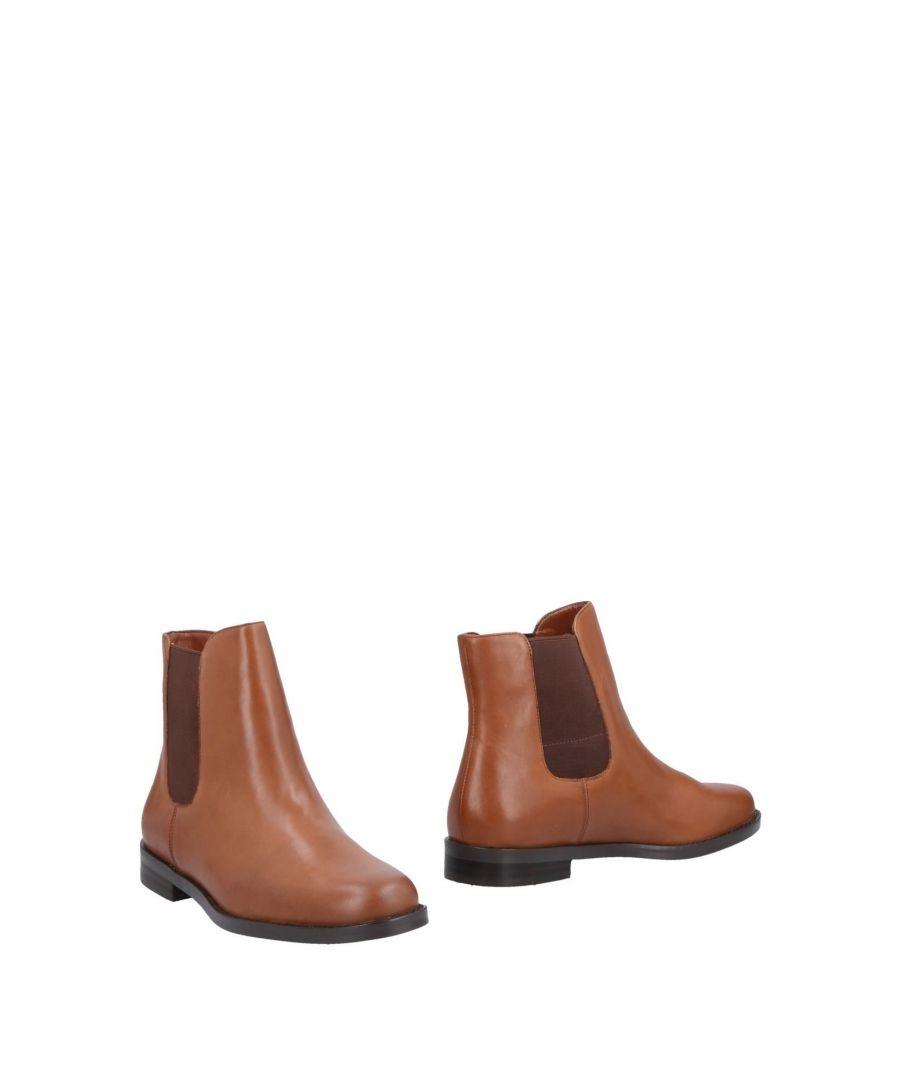 Image for Lauren Ralph Lauren Brown Leather Boots