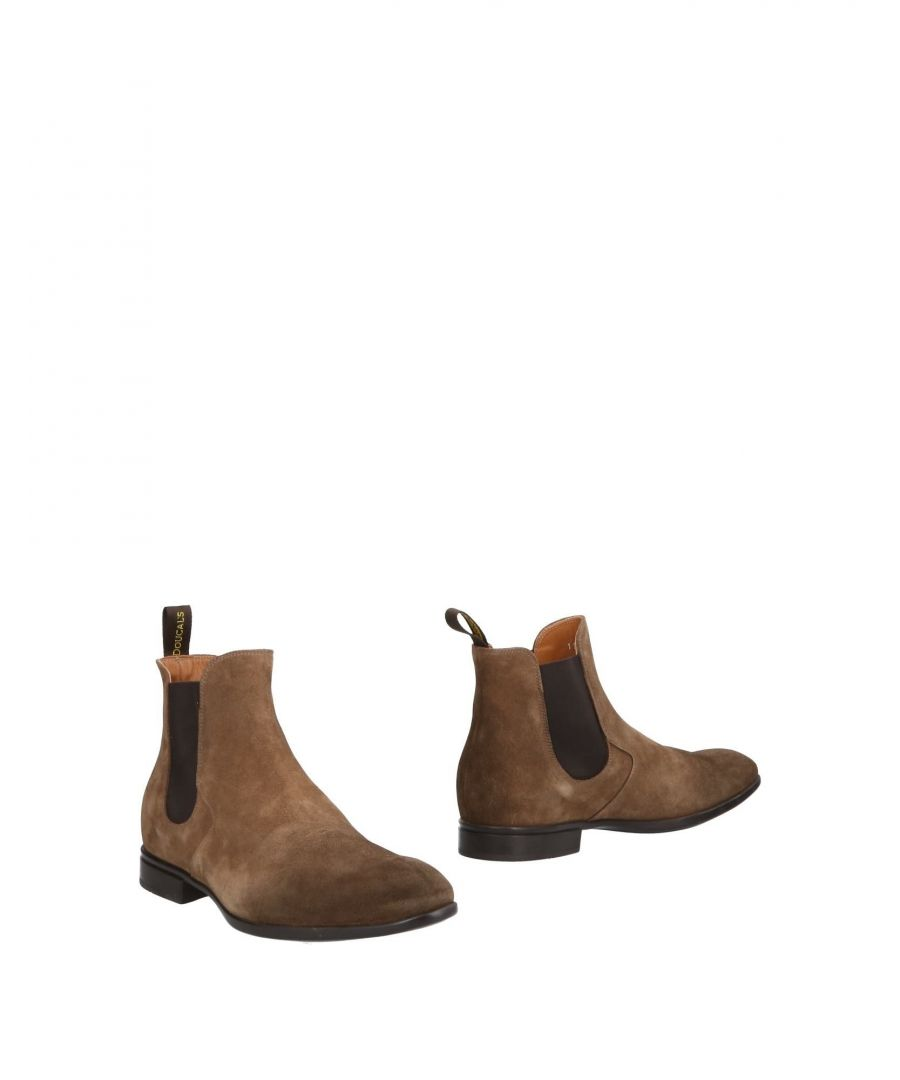 Image for Doucal's Khaki Leather Boots