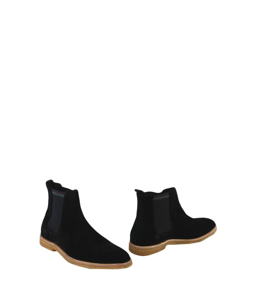 Image for Ps Paul Smith Black Suede Chelsea Boots
