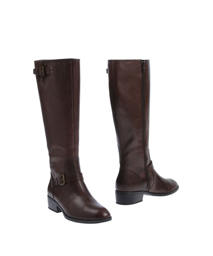 Image for Lauren Ralph Lauren Cocoa Leather Boots