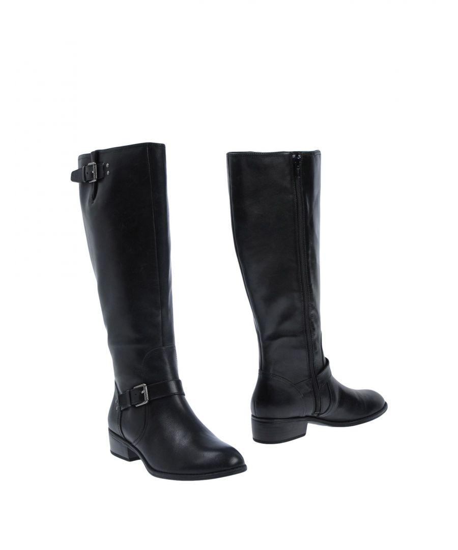 Image for Lauren Ralph Lauren Black Leather Boots