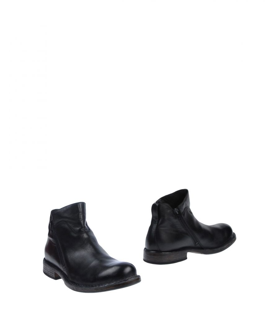 Image for Moma Black Leather Boots