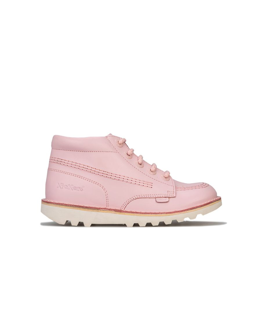 Image for Girl's Kickers Children Kick Hi Boots in Pink