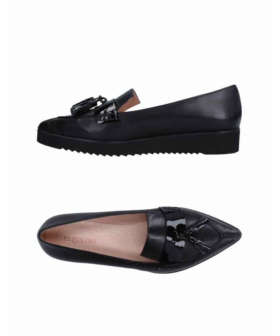 Image for Carlo Pazolini Black Leather Loafers
