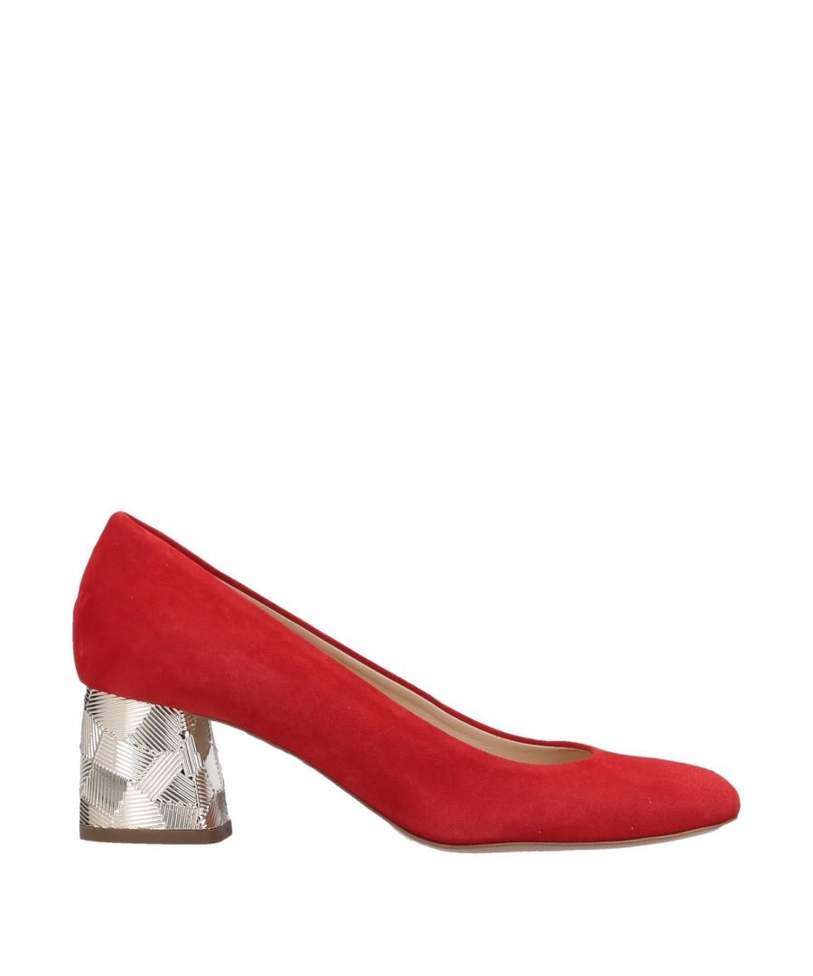 Image for Fiorangelo Red Leather Heels