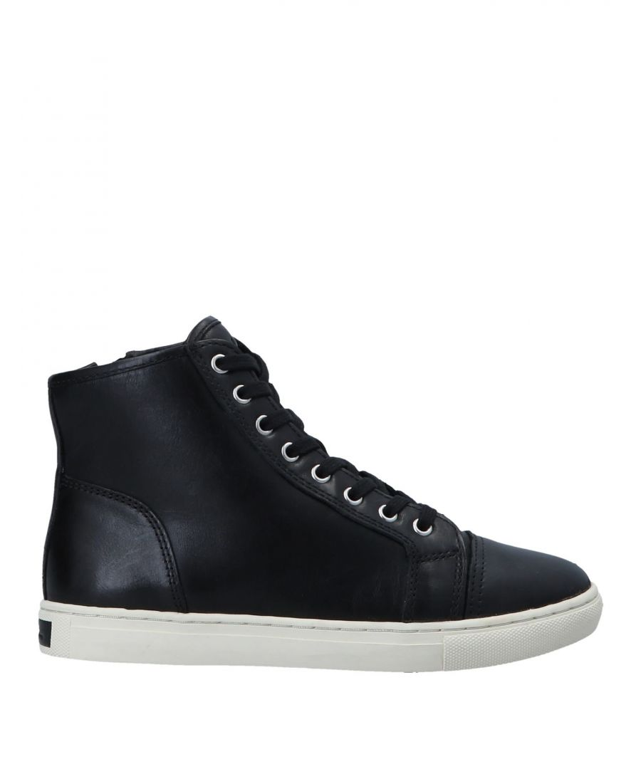 Image for Lauren Ralph Lauren Black Leather Sneakers