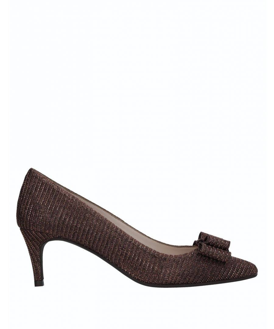 Image for Ancarani Copper Bow Detail Heels
