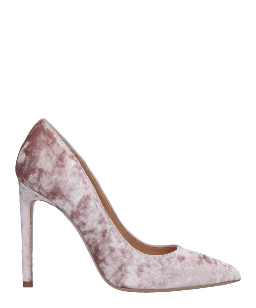 Image for Marco Barbabella Pink Chenille Heels