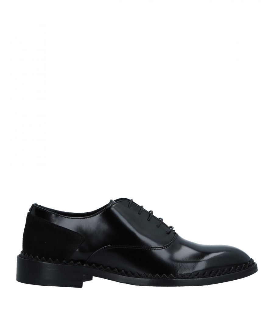 Image for John Galliano Black Leather Lace Up Shoes