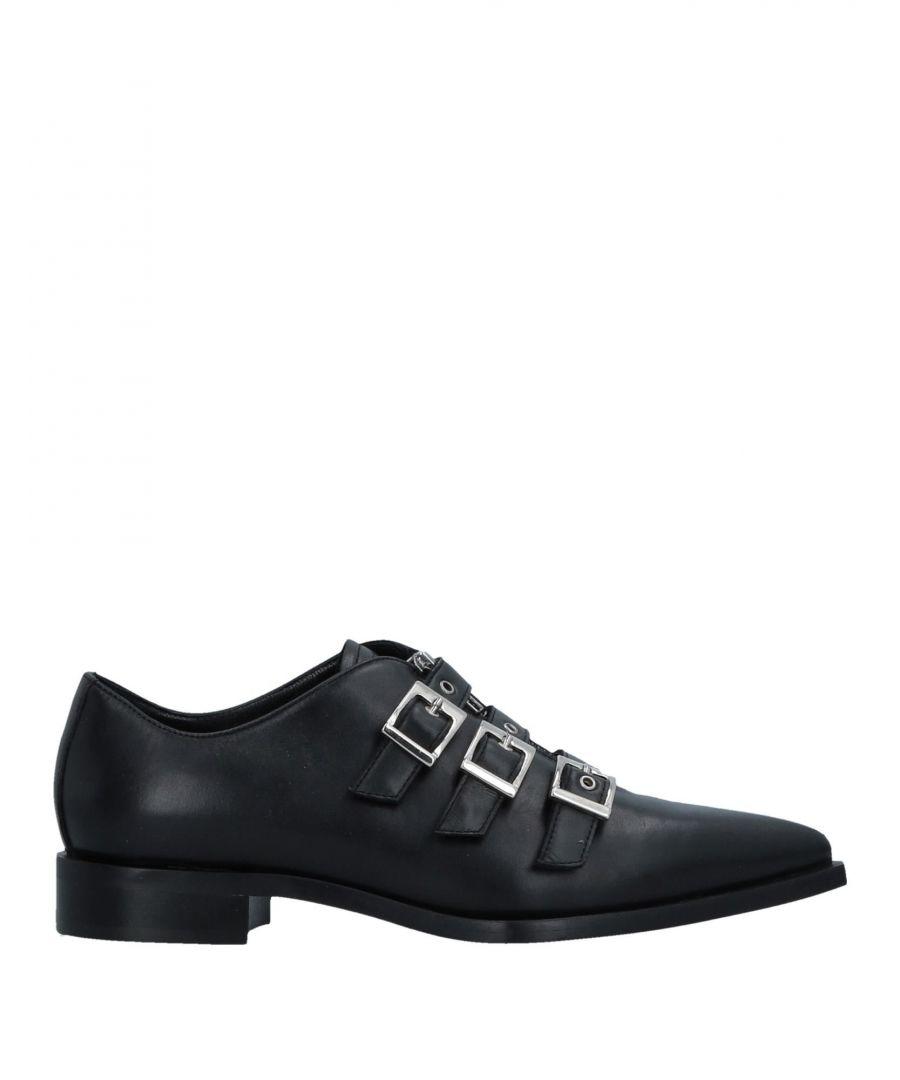 Image for John Galliano Black Nappa Leather Monkstrap Shoes